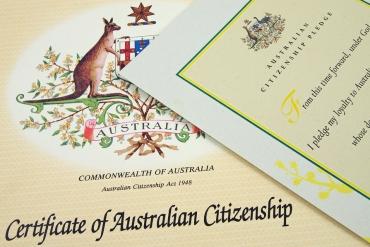 Quy trình nộp một bộ hồ sơ xin quốc tịch Úc